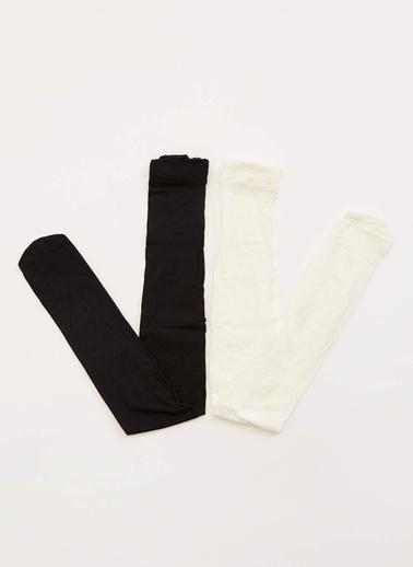 DeFacto Külotlu Çorap Siyah